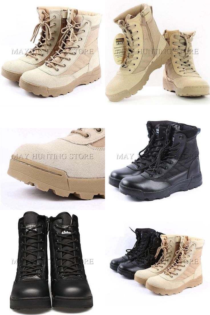 [Visit to Buy] Tactical SWAT Boots Military Paintball Airsoft Combat Shoes Outdoor Men Hiking Training Boots #Advertisement