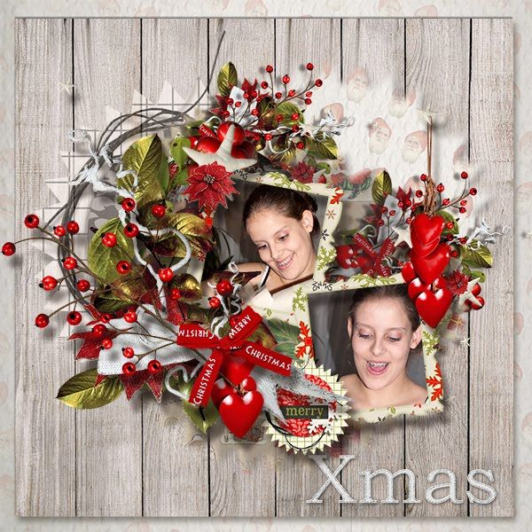 Scrapkit MagicChristmas by MariScrap http://bit.ly/1N58xKe Photos by kpmelly