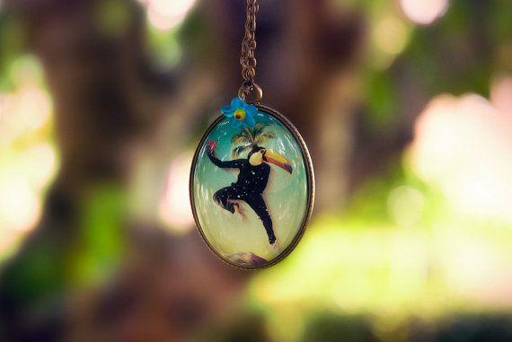 "Sautoir "" Cosmic Dancer"""