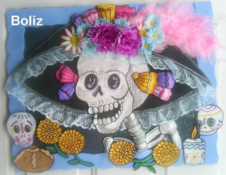 DIA De Los Muertos Bulletin Board Idea