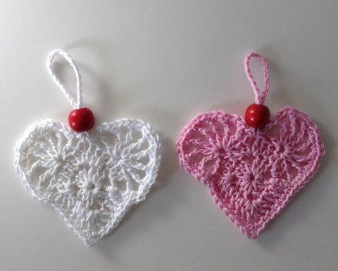 150 best images about Crochet hearts patterns on Pinterest ...
