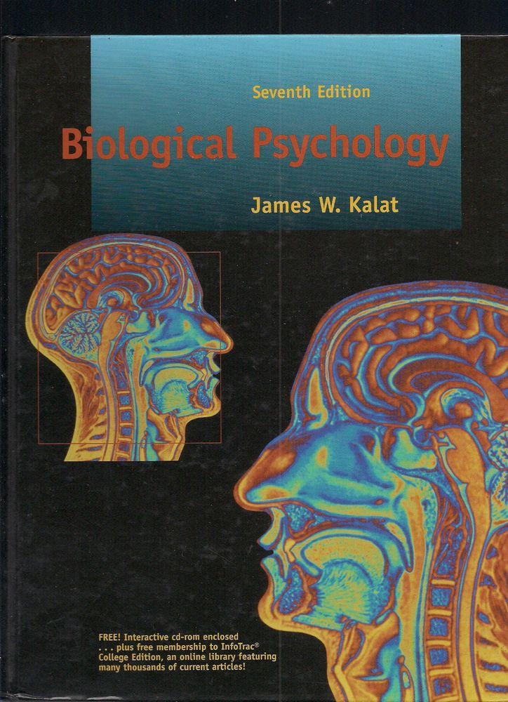 BIOLOGICAL PSYCHOLOGY J.W.Kalat 7.Auflage gebunden Kanada 2003 Ohne CD Englisch!