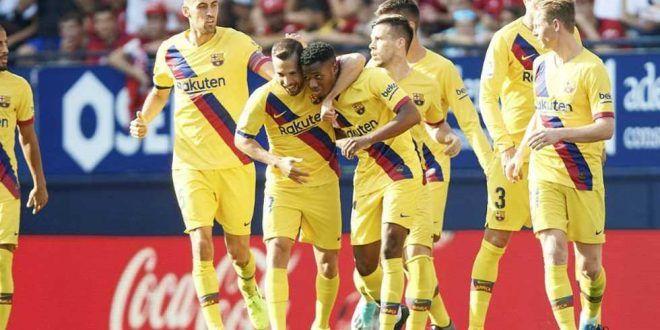 برشلونة يعلن قائمة لاعبيه لبطولة دوري أبطال أوروبا
