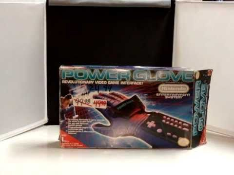 Nintendo Power Glove Opening New in Box it's so bad