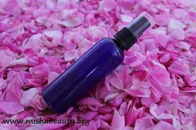 MishaBeauty - DIY kosmetika: Zklidňující sprej po opalování