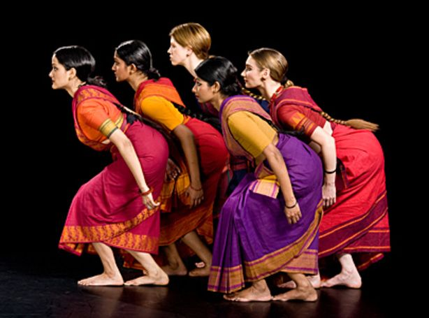 "Menaka Thakkar Dance Company in ""Shakti"" by choreographer Chandralekha."