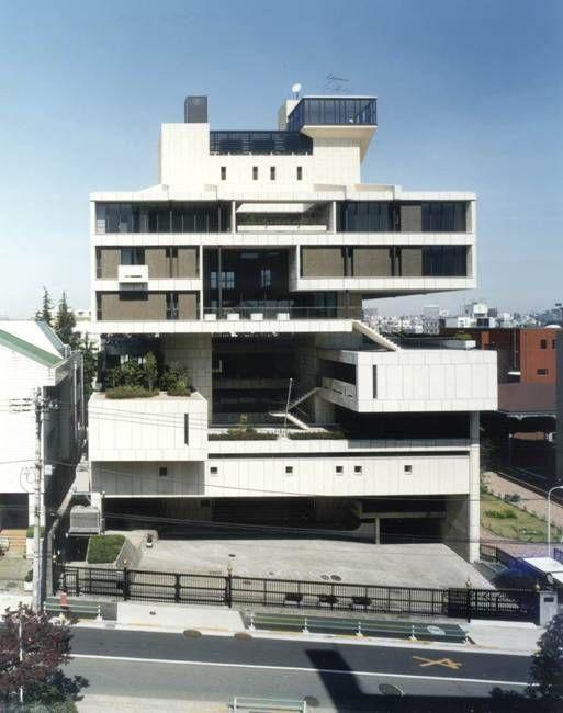 Die besten 25 kenzo tange ideen auf pinterest japan - Architektur tokyo ...