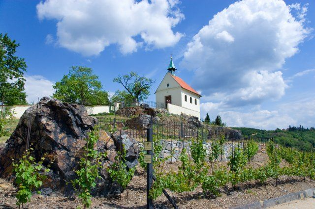 Svatá Klára Chapel - the only place of worship in the community