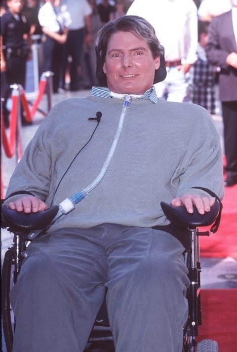 Sitting in the audience while Christopher Reeve gave a speech on the true meaning of hero was one of the most poignant moments of my life.