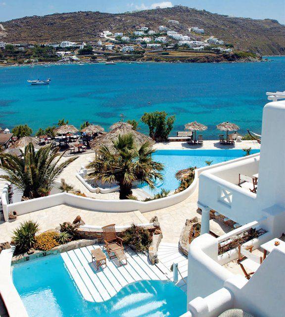 Kivotos Hotel in Mykonos, Greece #JuicyDestinations
