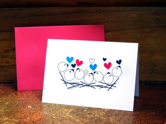 My very favourite design 'Nest' Greeting Card by Lark About Stationery on Etsy