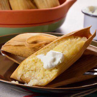 Tamales Dulces de Elote