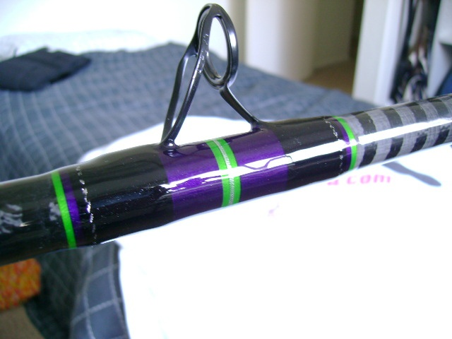 17 best images about rod building on pinterest mardi for Purple fishing rod