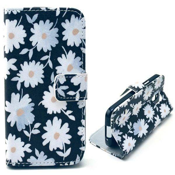Chrysanthemum bloemen hoes voor Samsung Galaxy S5 mini