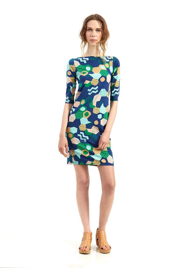 Sunday Dress - cool cucumber