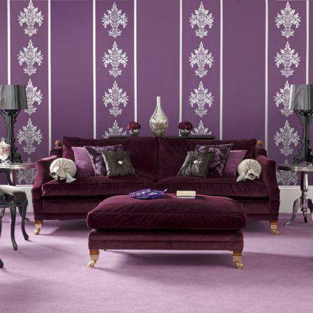 116 best Aubergine Purple Decor images on Pinterest Home Purple