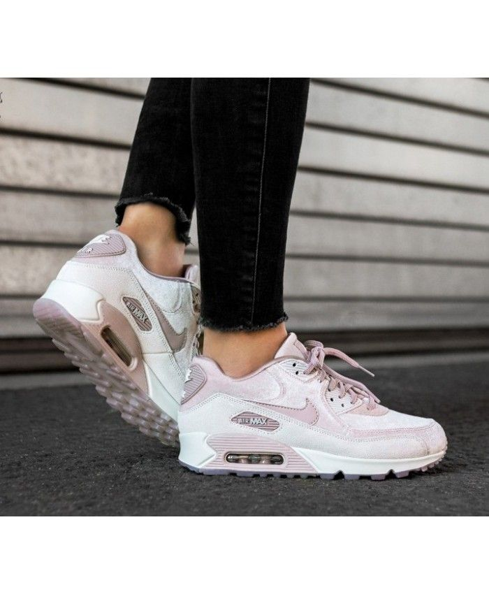 519af255f4 Nike Air Max 90 LX Trainers In Pink White | Fashion in 2019 | Nike ...