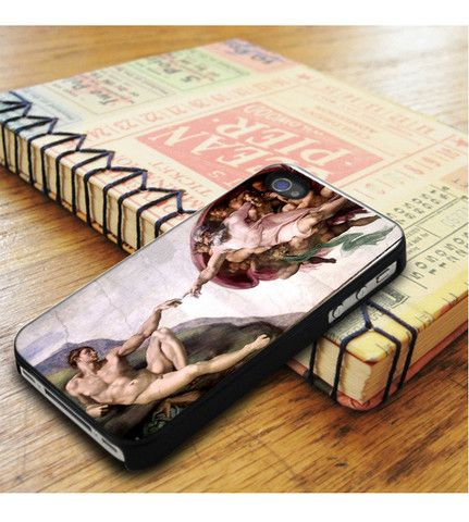 Michelangelo Sistine Chapel Creation Of Adam iPhone 5|iPhone 5S Case