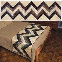 Chevron Bed Runner Pattern