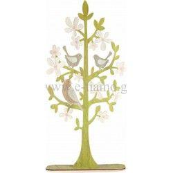 Διακοσμητικό Ξύλινο Δέντρο με ΠουλάκιαΔιάσταση: 42cm x 90cm