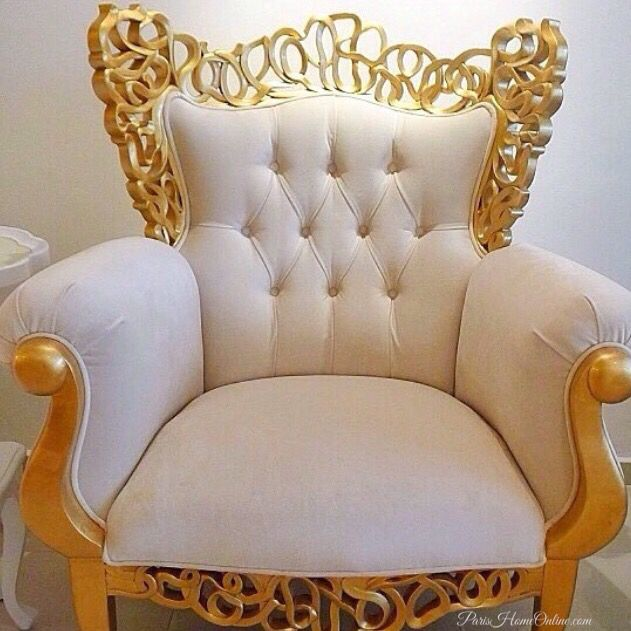 """BAROQUE GLAMOURISE CHAIR"" Visible Beauty Results…"