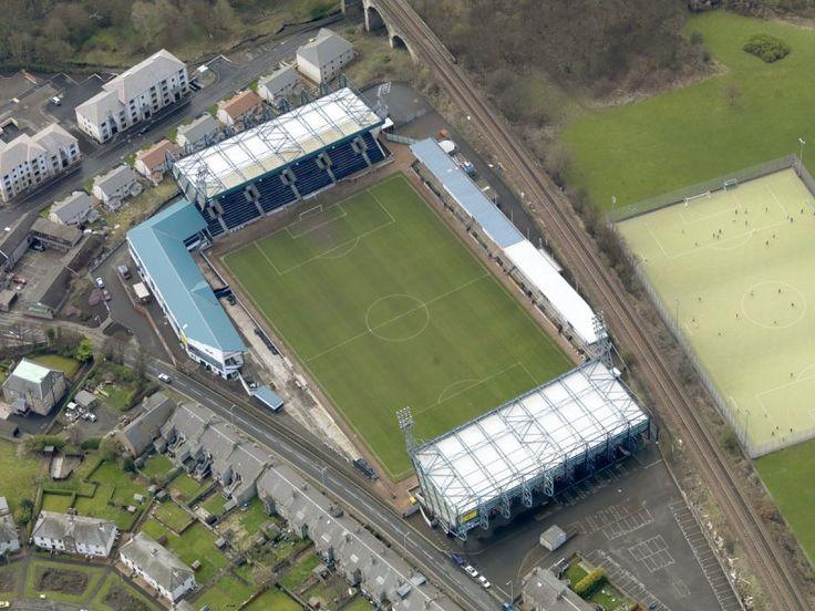 Raith Rovers -Kirkcaldy, Pratt Street, Starks Park Football Stadium.