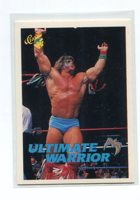 1990 WWF Classic ULTIMATE WARRIOR Trading Card #106 wwe on Etsy, $3.00