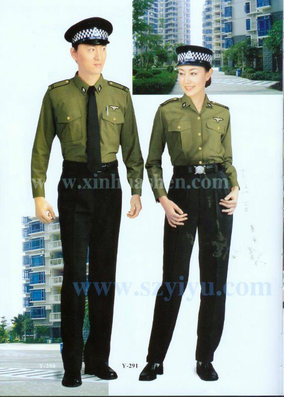 HOT selled smart design security guard uniform | World of Security