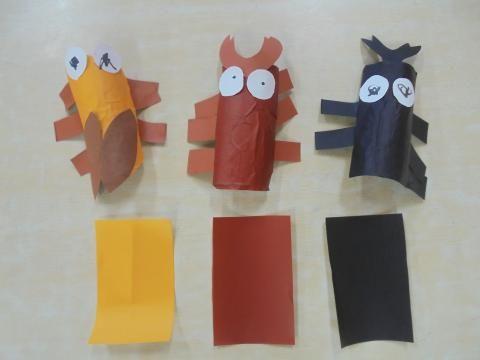 3歳児 8月 玄関壁面製作 「夏の虫大集合!」 | 蓮美幼児学園千里丘キンダースクールブログ
