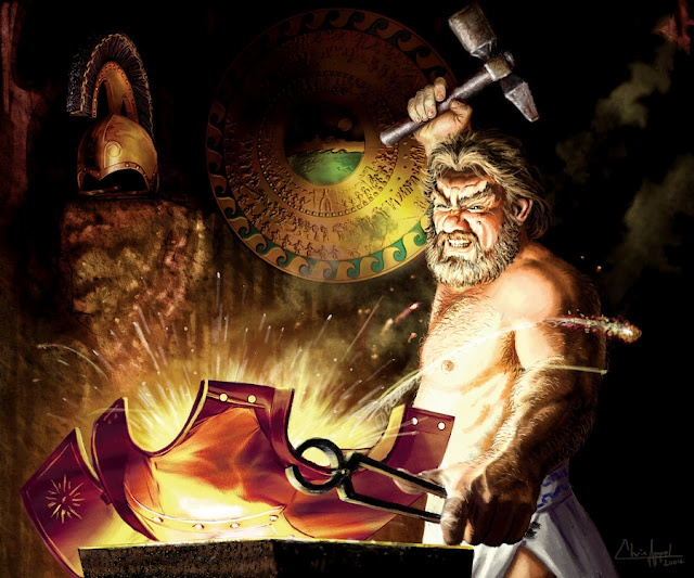hephaestus the master craftsman Hephaestus is the greek god of blacksmiths, metalworking, carpenters, craftsmen , artisans,  on the island of lemnos, where he was cared for and taught to be a  master craftsman by the sintians – an ancient tribe native to that island.