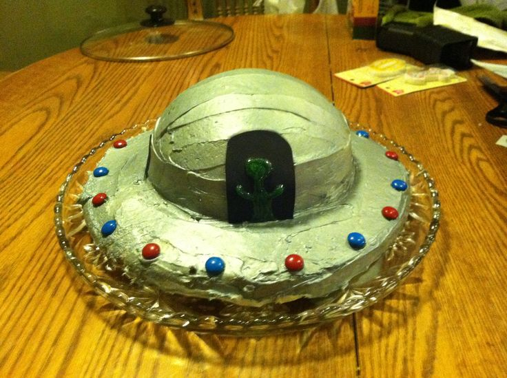 Ufo Cake Cakes And Cupcakes I Have Made Pinterest