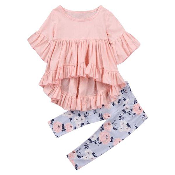 Lyra Floral Clothing Set – Petite Bello