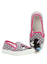 Disney Mickey & Minnie Mouse Kiss Slip-On Shoes,