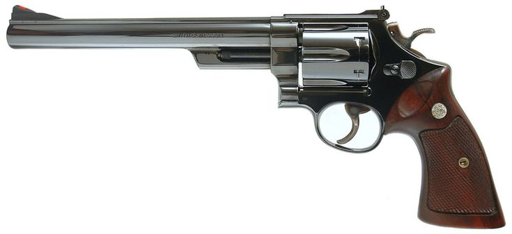 "Smith & Wesson Model 29 revolver with 8 3/8"" barrel - .44 Magnum"