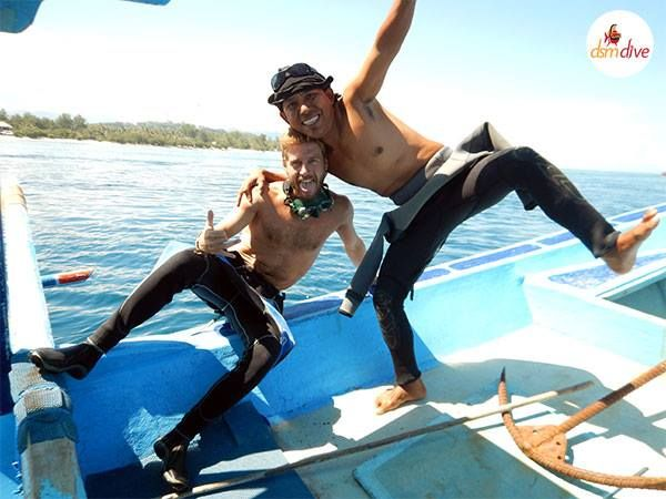 Diving courses come always with a lot of fun