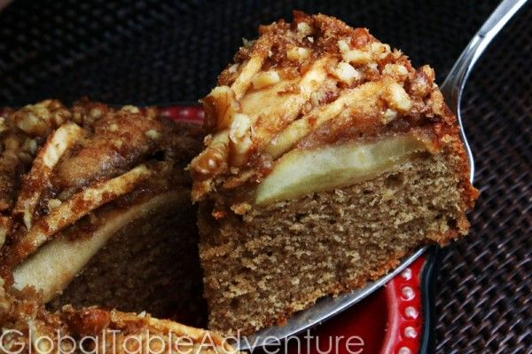 Danish Apple Cake Aeblekage Recipe