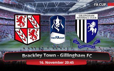 Brackley Town v Gillingham