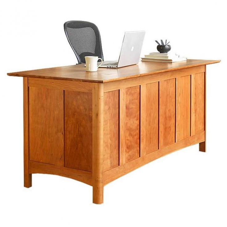 Modern Shaker Executive Desk available at Vermont Woods Studios   Wood DeskWooden  FurnitureOffice. 79 best Home Office Wooden Furniture images on Pinterest   Wooden