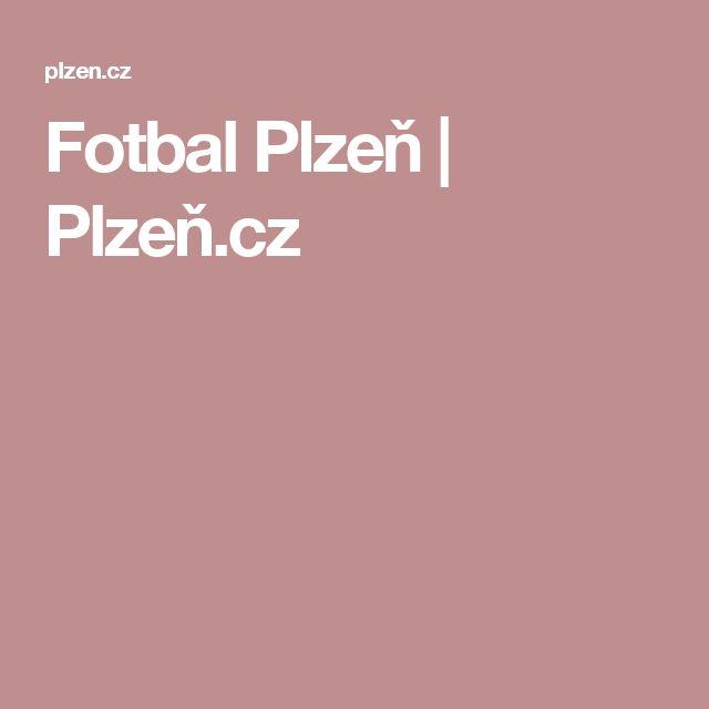 Fotbal Plzeň   Plzeň.cz