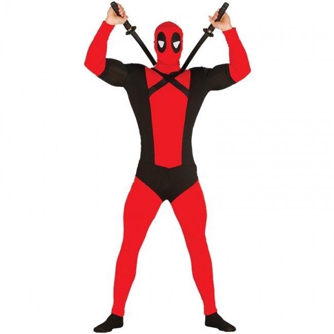 Disfraz Deadpool barato hombre #disfraces #carnaval #novedades2017