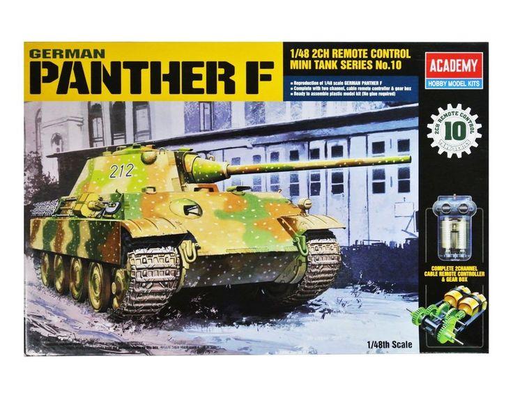 Academy Plastic Model Kit German Panther F Motorized Tank 1/48 Scale 13003 NIB  #Academy