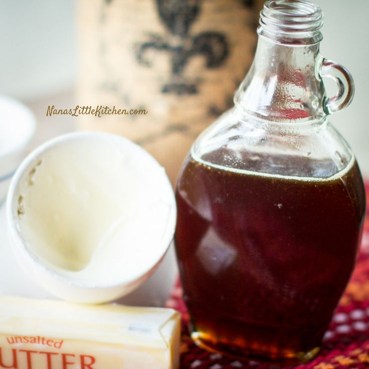 Rich Buttered Sugar Free Maple Syrup - Nana's Little Kitchen