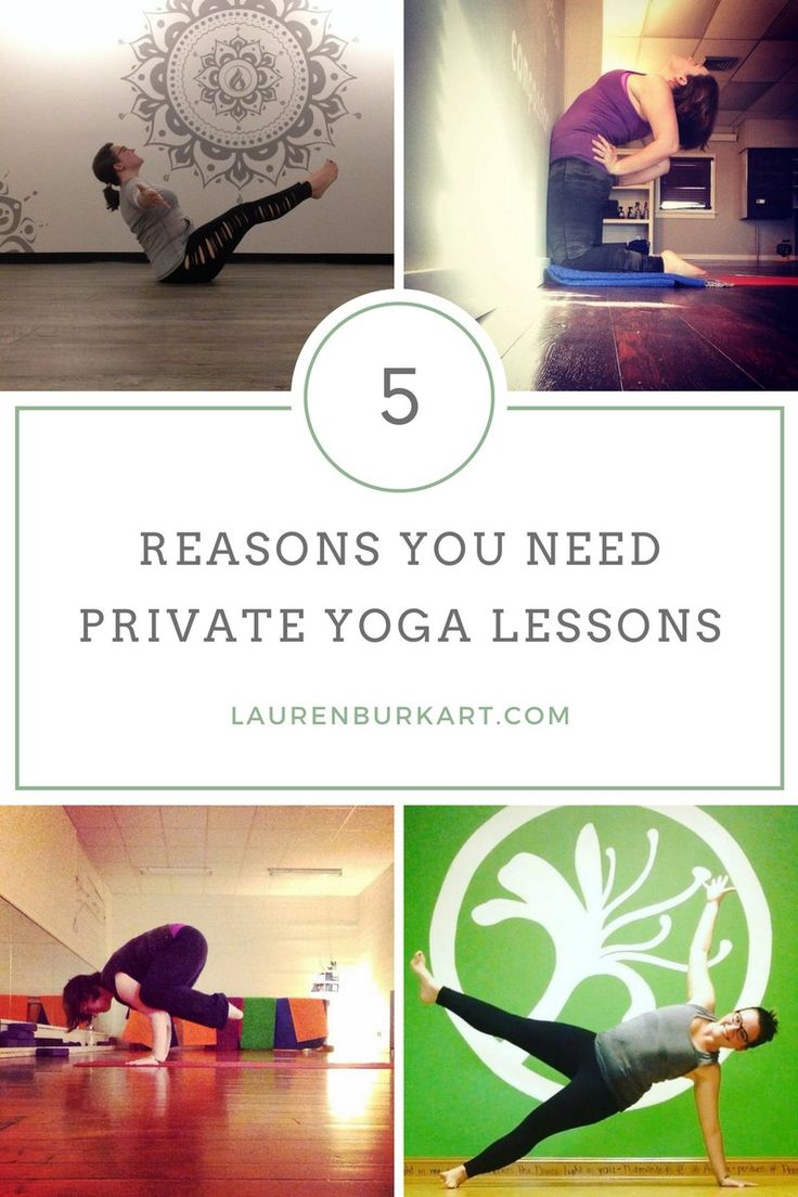 5 Reasons You Need Private Yoga Lessons #yoga #homepractice