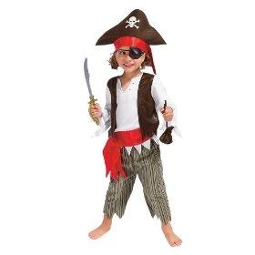 ## VERY Cute ##: Kids Pirate Halloween Costume SM 2T