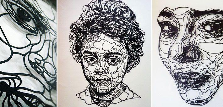 """""""Χάρτινη Τέχνη"""". Λεπτές συνθέσεις με χαρτί από τον καλλιτέχνη Kris Trappeniers"""