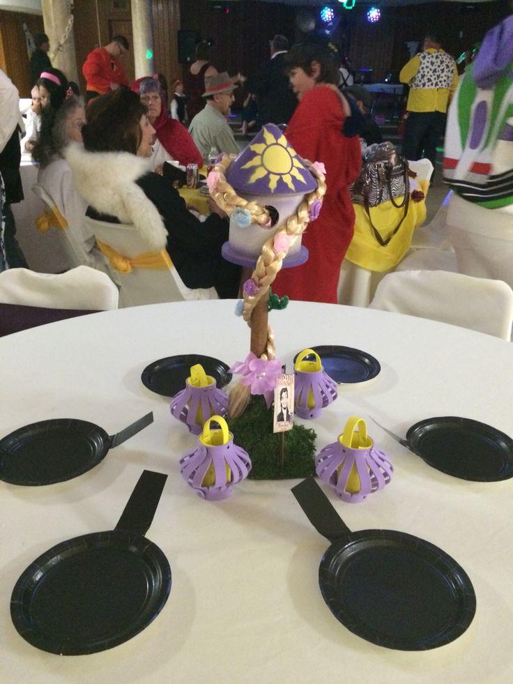 Rapunzel center piece