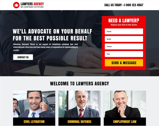This is the design you're looking for! Check out the detailed preview of this premium Law Firm Responsive Landing Page Template