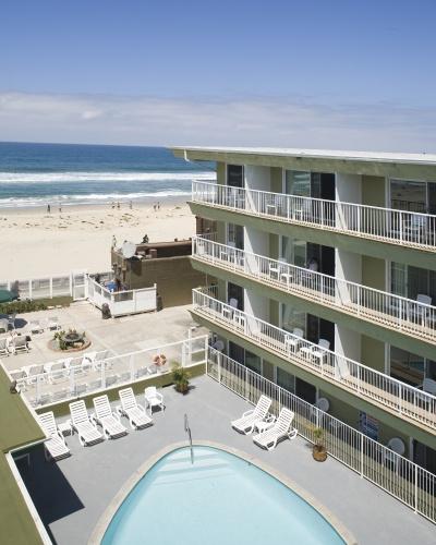 Surfer Beach Hotel Pacific Beach- Where Glen and I married.
