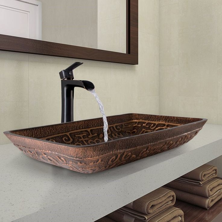 Bathroom Faucets For Granite Countertops 711 best vessel / countertop sinks images on pinterest