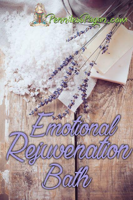 Happy People Burn Out Too: Emotional Rejuvenation Bath from PennilessPagan.com…